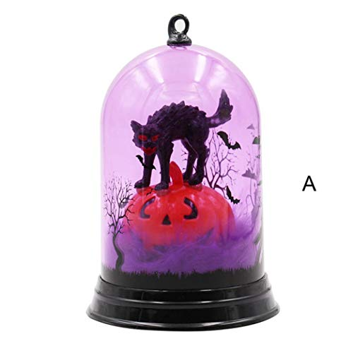 Halloween Flameless Witch Light with LED Witch Candle