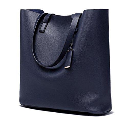 Europe Et Mode Pour Bags Big à Amérique Darkblue Main à Femmes Sacs WLFHM Femmes Bandoulière Sacs Sacs R8xqpS8g