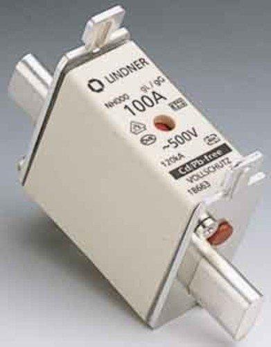 200A AC500V NH-Sicherungseinsatz 8430399001791 Mersen NH-Zero-Sicherungseinsatz NH1GG50V200 Gr.1