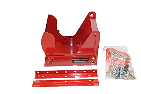 Power Locker PL-300 Wheel Lock Security for Trailering, Red