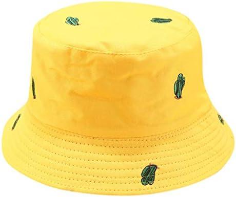 Qiiueen Sombrero De Mujer, Sombrero De Pescador con Estampado De ...
