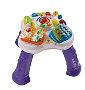 VTech Baby 148003 Play & Learn Activity Table , White/Purple