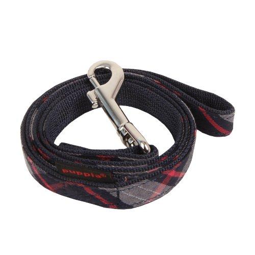 puppia-authentic-vogue-matching-lead-pet-leash-medium-navy