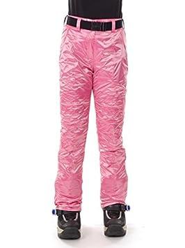 5ccaa5c8f1cf CMP Pantalon de Snowboard Pantalon de Ski Neige Rose Ceinture Climaprotect  3W10566 - Rose, 34