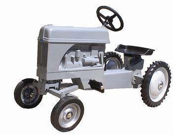 Little Grey Fergie Metal Tractor: Amazon co uk: Toys & Games