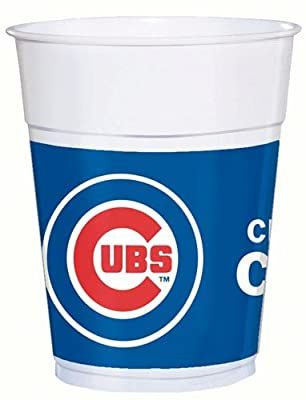 Chicago Cubs Party Cups - 25 Ct