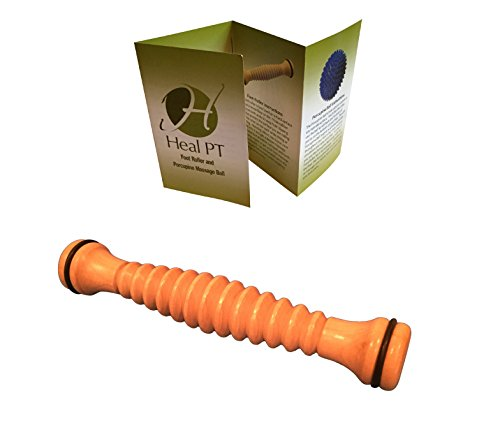 Wood Foot Roller for Plantar Fasciitis Massage