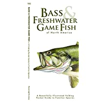 Bass & Freshwater Game Fish: A Folding Pocket Guide to Popular North American Species