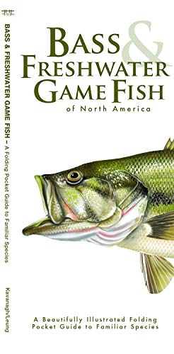 Bass & Freshwater Game Fish of North America: A Beautifully Illustrated Folding Pocket Guide to Familiar Species (Wildlife and Nature Identification) ()