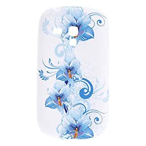 Conseguir Flor Patrón Soft Case para Samsung Galaxy S3 Mini I8910