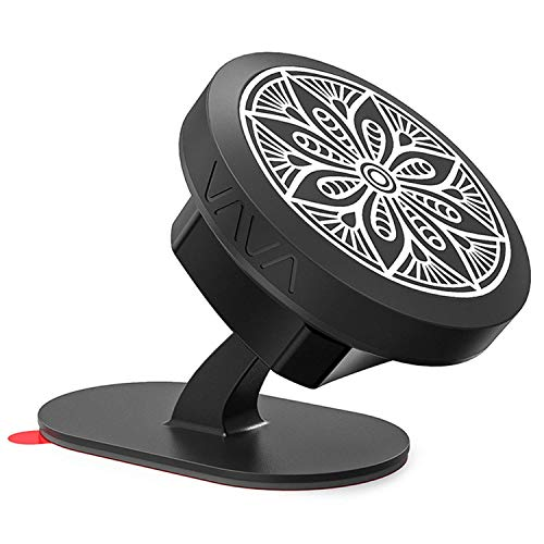 VAVA Magnetic Phone Holder for Car, Universal Stick On Dashboard Magnetic Car Phone Mount, Compatible with iPhone Xs Max XR X 8 7 Plus Galaxy S9 S8 Plus Note 9 8 and More