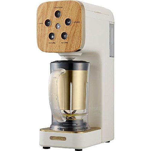 Doshisha Coffee Maker  Soluna Quattro Choice  Qcr 85B Nwh  Natural Wood  Japan Domestic Genuine Products