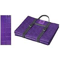 Gaiam Yoga Mat - Foldable 2mm Travel Exercise & Fitness...