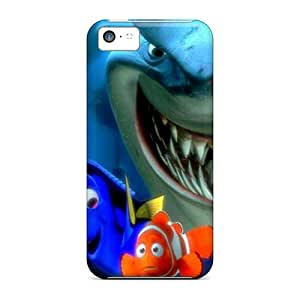 JonathanMaedel Iphone 5c Scratch Resistant Hard Phone Case Allow Personal Design Lifelike Finding Nemo Image [vie7519kBqt]