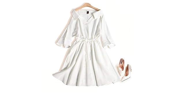 Vestido de Mujer Color sólido Elástico Cintura Capucha Falda ...