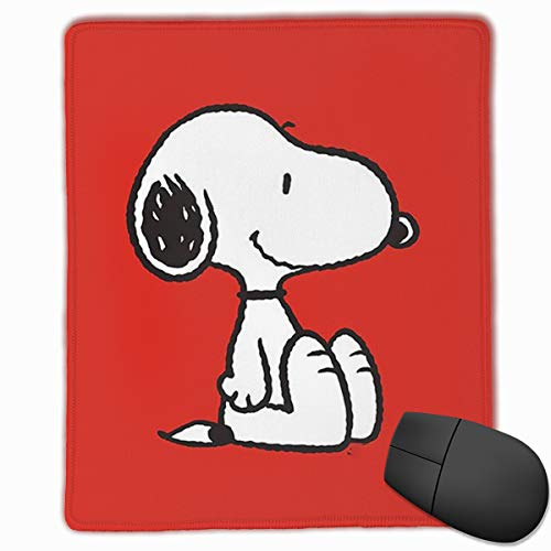 Mouse Pad Red Snoopy Computer Mouse Mat (9.9x11.8IN,25x30CM) (Snoopy Computer Mouse)