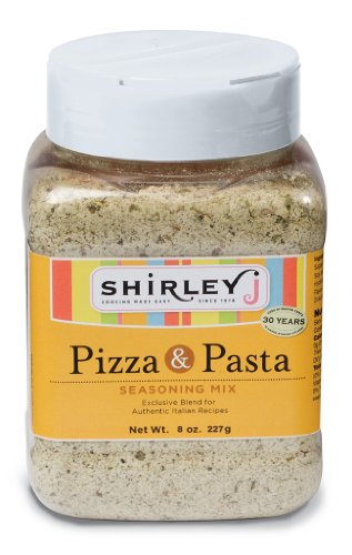 Shirleyj Pizza & Pasta Seasoning Mix - 8 Oz by Shirley J