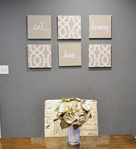 Canvas Wall Art Design Ideas Dining Table