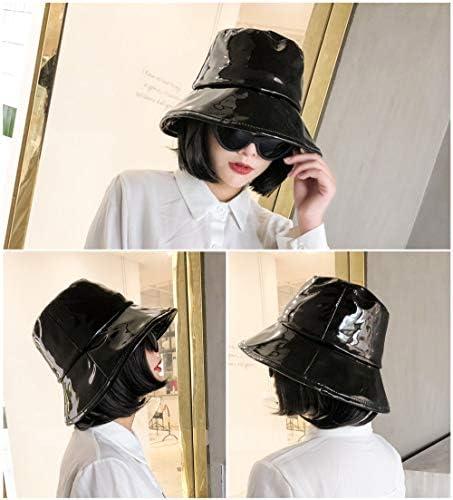 lanliebao Women's Rain Hats Waterproof Rain Hat Wide Brim Bucket Hat Rain  Cap - Black - Medium: Amazon.com.au: Fashion