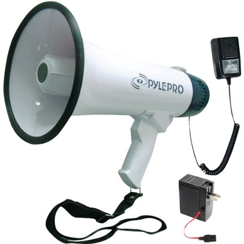 Pyle Pro(r) Pmp45r 40-Watt Professional Dynamic Megaphone 13.10in. x 9.40in. x 8.00in.