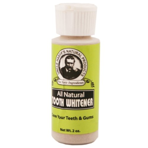 Tooth Whitener Powder 0.7oz powder by Uncle Harry's Natur...