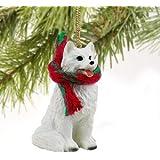 American Eskimo Miniature Dog Ornament