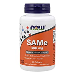 SAMe (S-adenosylmethionine), a compound native to the body, is a component of many biochemical reactions, including those that affect brain biochemistry and joint health.* Numerous studies have indicated that SAMe can help to alleviate transi...