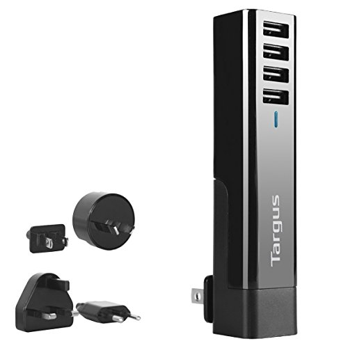 Targus 4 Way Usb Ac Plugs Tablet Charger usb mains wall charg ()