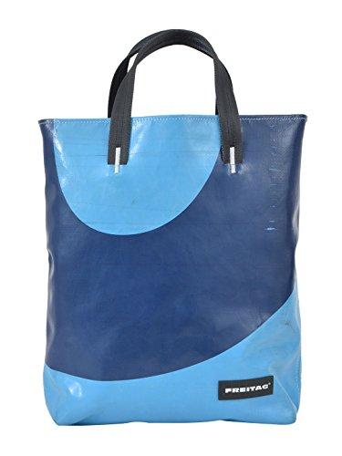 e325dca0c4 Freitag Borsa Shopping Donna LELAND4MULTICOLOR Pvc Blu ...