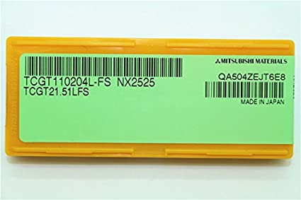 High quality 10P TCGT21.51L//TCGT110204L-FS NX2525 Fine boring blade For steel
