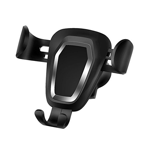 unt Stand, Telegaming Universal Gravity Car Air Vent Holder For Any 4-6 Inch Smartphones, For iPhone X/8/ 8 Plus/7/7 Plus/6/6S,For Samsung Galaxy S9 S8 S7 S6 Plus/Note 8 etc. (Auto Adjust Smart Converter)