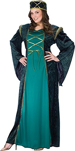 Lady in Waiting Adult Costume - Renaissance (Plus 16-20)