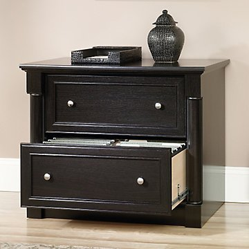 Avenue Eight Two Drawer Lateral File - 36''W x 22''D(Dark Wind Oak Laminate Finish) by OFF1