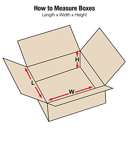 """Aviditi 22228 Flat Corrugated Cardboard Box 22\"""" L x 22\"""" W x 8\"""" H, Kraft, for Shipping, Packing and Moving (Pack of 15)"""