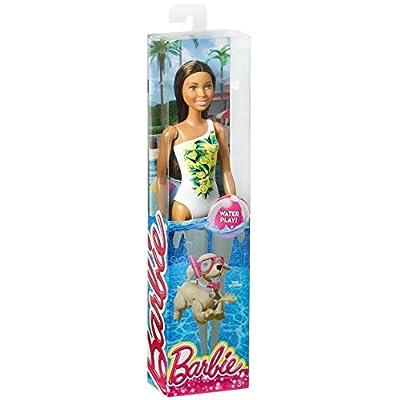 Barbie Beach Nikki Doll: Toys & Games