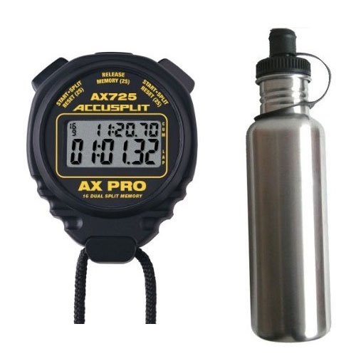 Accusplit AX725BK AX725 Series Stopwatch, Black