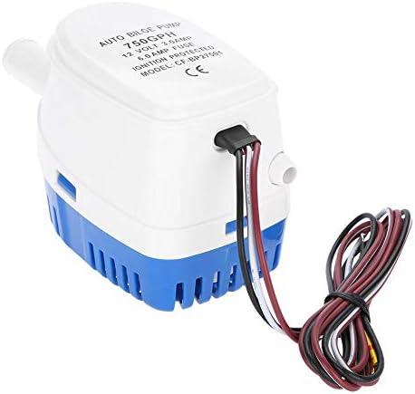 Automatische 12V bilgenpomp 750GPH waterpomp met vlotterschakelaar