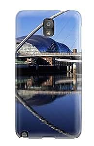 Hot Design Premium YpJKxae9857ImUPC Tpu Case Cover Galaxy Note 3 Protection Case(millennium Bridge Widescreen England)