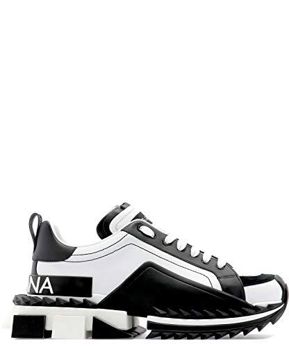 Dolce e Gabbana Men's Cs1649az69289697 White Leather Sneakers