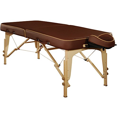 Mt Massage Lotus 30 Professional Portable Massage Table Package with Reiki PanelChocolate