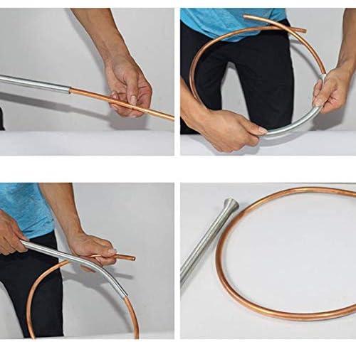 tubo in acciaio INOX connettore per tubo in rame tubo in alluminio 5/pz PVC Wire Spring Tube Bender curve molla curvatubi idraulica dispositivo strumenti
