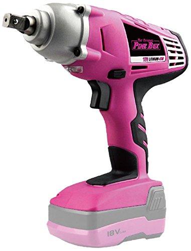 The Original Pink Box 18-Volt 1/2-Inch Cordless Impact Wrenc