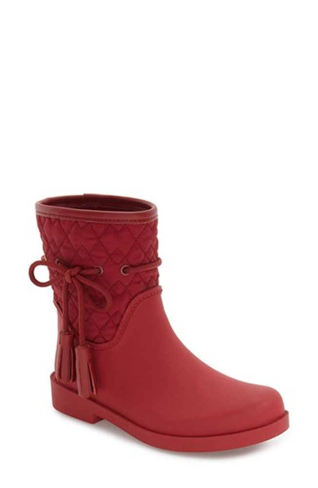Jessica Simpson Racyn Women Round Toe Synthetic Rain Boot B076HCFXGS 11 B(M) US Raging Red