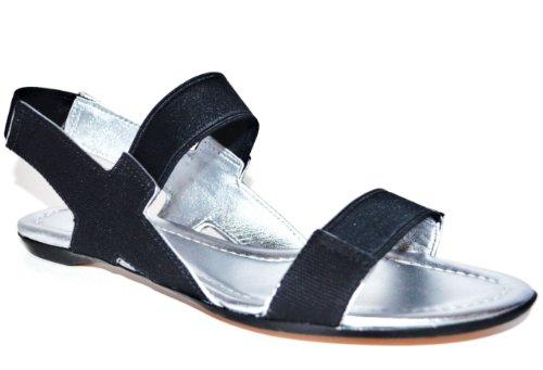 Elie Tahari Womens Estrella Sandal Canvas Sandal Shoe US 6M EU 36 9GnzJB
