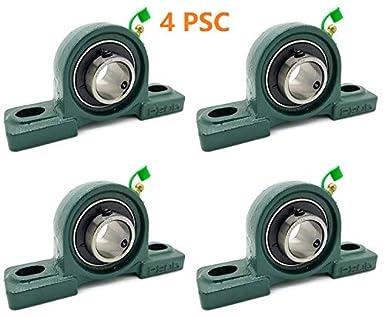 Amazon.com: 4PSC de UCP205-16 rodamientos de hierro fundido ...