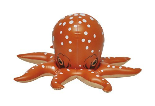 Inflatable sea life Octopus toy for pool or sea or bath 18 Long by Jet Creations