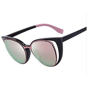 MERRY'S Fashion Cat Eye Sunglasses Women Brand Designer Retro Pierced Female Sun Glasses oculos de sol feminino UV400-Pink