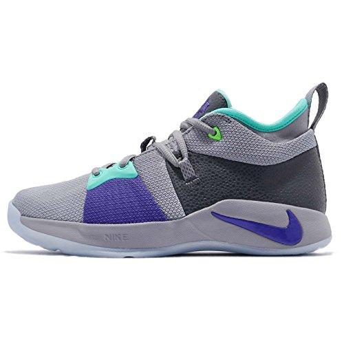 排他的外国人不定(ナイキ) PG 2 レディース キッズ バスケットボール シューズ Nike PG2 GS 943820-002 [並行輸入品]
