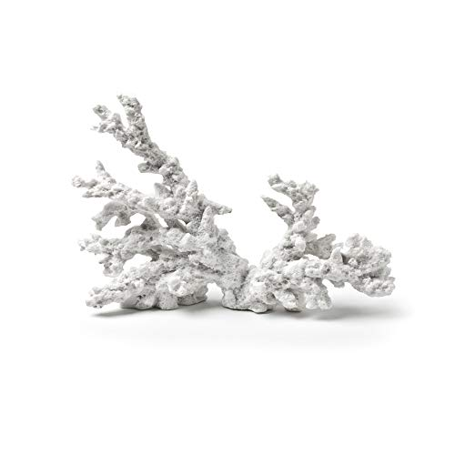 Abbott Collection Coral Branch Sculpture, White (Small)