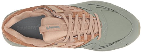 9000 Saucony Grid Homme green Baskets Tan CpnTq
